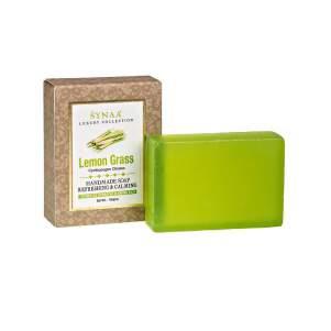 Мыло ручной работы Лемонграсс Синая (Synaa Lemon Grass Handmade soap Refreshing and calming), 100г