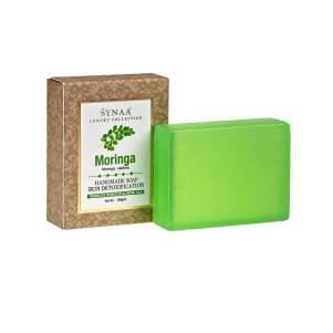 Мыло ручной работы Моринга Синая (Synaa Moringa Handmade Soap Skin Detoxification), 100г