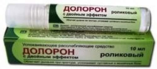 Успокаивающее расслабляющее средство Долорон (роликовый) с двойным эффектом, 10г