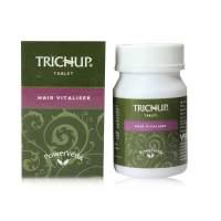 Витаминный травяной комплекс для укрепления и роста волос в капсулах Тричуп (Trichup Hair Vitalizer Tablet), 60шт