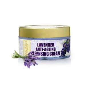 Омолаживающий очищающий крем с Лавандой Ваади Хербалс (Vaadi Herbals Lavender Anti-Ageing Cleansing Cream), 50мл