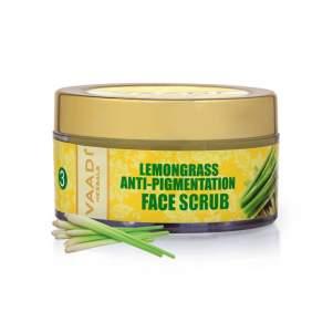 Скраб для лица против пигментации Лемонграсс Ваади Хербалс (Vaadi Herbals Lemongrass Anti-Pigmentation Face Scrub), 50мл