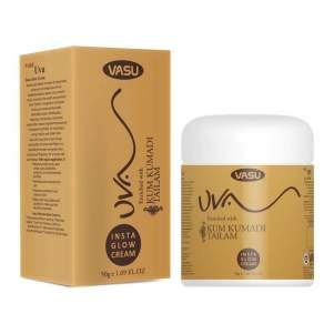 Омолаживающий крем для лица на основе масла кумкумади Васу Инста Глоу (Vasu UVA Insta Glow Cream), 50г