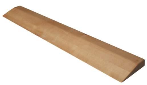 Планка деревянная для йоги с пропиткой