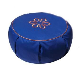 Подушка для медитации (30x15), синяя