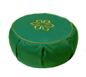 Подушка для медитации (30x15), зеленая