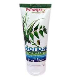 Крем-гель для бритья Патанджали (Patanjali Shaving Cream), 50г