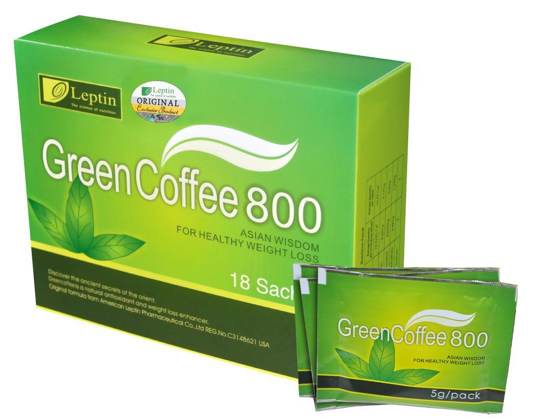 Зеленый кофе Лептин 800