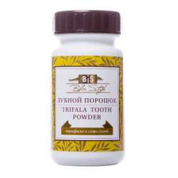 Зубной порошок Блисс Стайл Трифала и семь солей (Triphala Tooth Powder), 50г