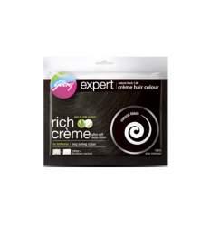 Крем-краска для волос Натуральный черный Годредж (Godrej Expert Rich Creme), 40г