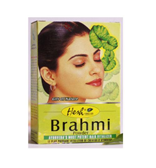 "Порошок для волос ""Брахми"" Hesh Brahmi Powder, 100г"