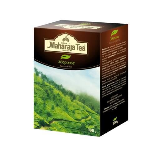 Чай черный крепкий Здоровье Махараджа (Maharaja Tea Assam Health Tea), 100г