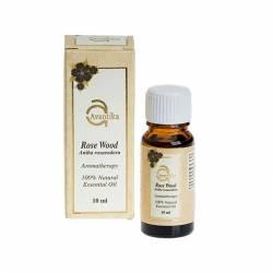 Натуральное эфирное масло Розового дерева Авантика (Avantika Natural Essential Rose Wood Oil), 10мл