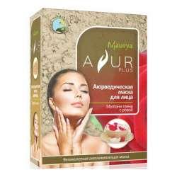 Аюрведическая маска для лица Мултани глина и Роза Аюр Плюс (Ayur Plus), 100г