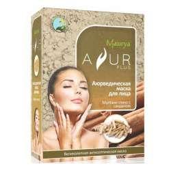 Аюрведическая маска для лица Мултани глина и Сандал Аюр Плюс (Ayur Plus), 100г
