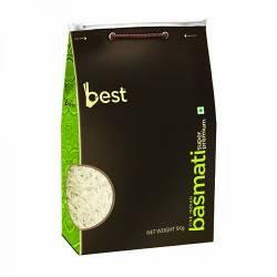 Рис Басмати Супер Премиум Бест (Best Basmati Super Premium Rice), 5кг