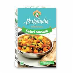 Смесь специй для овощей Сабджи Масала Бестофиндия (Bestofindia Sabzi Masala), 100г
