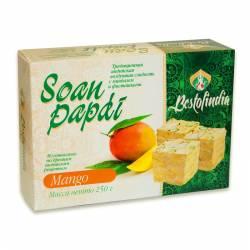 Воздушные индийские сладости со вкусом манго Соан Папди Манго Бестофиндия (Bestofindia Soan Papdi Mango), 250г