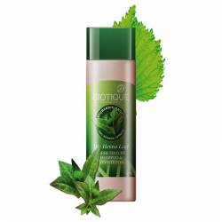 Шампунь-кондиционер Биотик Био Хна (Biotique Bio Henna Leaf Fresh Texture Cleanser Shampoo&Conditioner With Color), 120мл