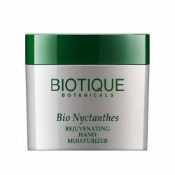 Крем для рук омолаживающий Биотик Био Никтант (Biotique Bio Nyctanthes Rejuvenating Hand Moisturizer), 50г