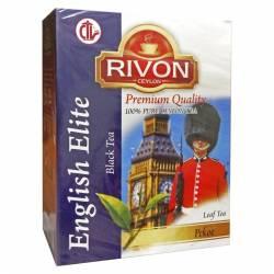 Чай цейлонский чёрный премиум-качества Английский Элитный Ривон (Rivon Ceylon Premium Quality English Elite Black Tea), 100г