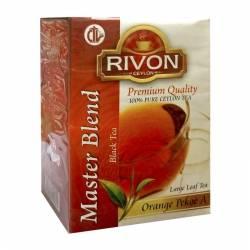 Чай цейлонский чёрный премиум-качества Мастер Бленд Ривон (Rivon Ceylon Premium Quality Master Blend Black Tea), 100г