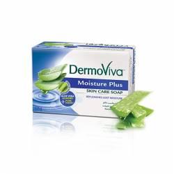 Увлажняющее мыло Дабур ДермоВива (Dabur DermoViva Moisture Plus Skin Care Soap), 75г