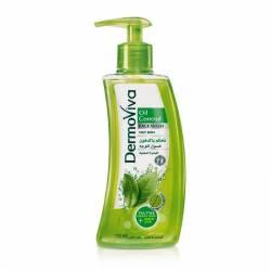 Гель для умывания Контроль за жирностью кожи с дозатором Дабур ДермоВива (Dabur DermoViva Oil Control Face Wash), 150мл