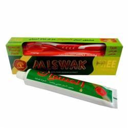 Аюрведическая зубная паста Мисвак Дабур (Dabur Miswak Herbal Toothpaste), 190г + зубная щетка