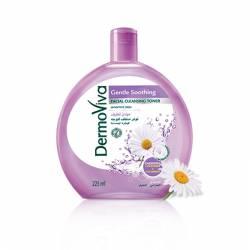 Тоник для лица Нежное успокоение с ромашкой Дабур ДермоВива (Dabur DermoViva Gentle Soothing Cleansing Toner), 225мл