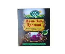 Иван-чай Царский черный ферментированный в коробке Дары полей, 75г