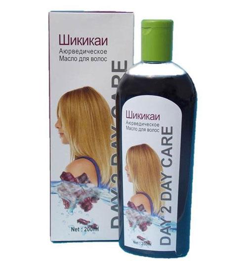 Аюрведическое масло для волос  DAY 2 DAY Шикакай, 200мл