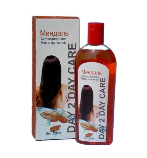 Аюрведическое масло для волос  DAY 2 DAY Миндаль, 200мл