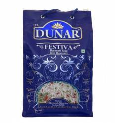 Рис Басмати Воздушный Дунар Фестива (Dunar Festiva Basmati Rice), 1кг