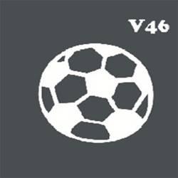Многоразовый трафарет для мехенди V46
