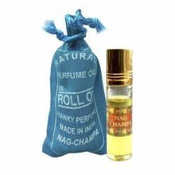 Духи-масло Наг Чампа Индийский Секрет (The Indian Secret Natural Perfume Oil Nag Champa), 10мл