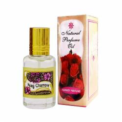 Духи-масло Наг Чампа Индийский Секрет (The Indian Secret Natural Perfume Oil Nag Champa), 5мл