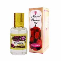 Духи-масло Клубника Индийский Секрет (The Indian Secret Natural Perfume Oil Strawberry), 5мл
