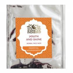 "Травяная маска для лица Индиберд «Молодость и Сияние» (Indibird Herbal Face Pack ""Youth and Shine""), 20г"