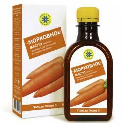 Масло льняное обогащенное морковью Компас Здоровья, 200мл