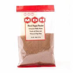 Чёрный перец молотый Махашиан Ди Хатти (MDH Black Pepper Powder), 100г