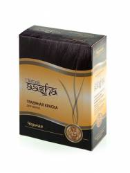 """Травяная краска для волос """"Черная"""" Ааша (Aasha Herbals), 60г"""