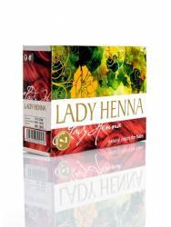 Краска для волос на основе хны Махагони Леди Хенна (Lady Henna natural colors for hairs), 60г