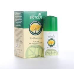 Антивозрастная сыворотка для лица Биотик Био Одуванчик (Biotique Bio Dandelion Ageless Lightening Serum) , 40мл