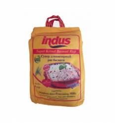Супер длиннозерный рис Кернел Басмати Индус (Indus), 5кг
