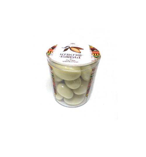 Какао-бобы в белом шоколаде Чоко Бин, 100г