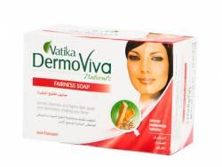 Отбеливащее мыло Дабур Ватика Дермовива (Dabur Vatiкa DermoViva Naturals Fairness Soap), 125г