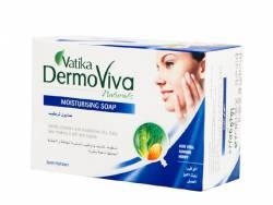 Увлажняющее мыло Дабур Ватика Дермовива (Dabur Vatiкa DermoViva Naturals Moisturising Soap), 125г