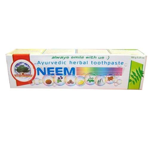Аюрведическая зубная паста Ним Дабур (Dabur Ayurvedic Herbal Toothpaste), 150г