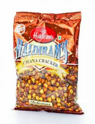 Хрустящий Горох Халдирамс Чана Крекер (Haldiram's Chana Cracker), 200г